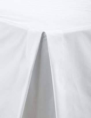 Marks and Spencer Non-Iron Pure Egyptian Cotton Valance Sheet - 230 Thread Count