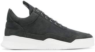 Filling Pieces ankle lace-up sneakers