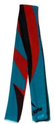 Diane von Furstenberg Wool-Blend Printed Scarf