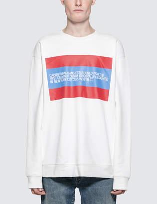 Calvin Klein Jeans Est.1978 Est. 1978 Patch Sweatshirt