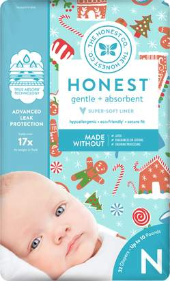 The Honest Company Gingerbread Time Diapers