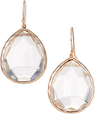 Ippolita Rose Rock Candy Large Teardrop Quartz Earrings