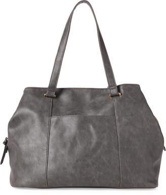 Violet Ray Charcoal Carter Pouch Shoulder Bag