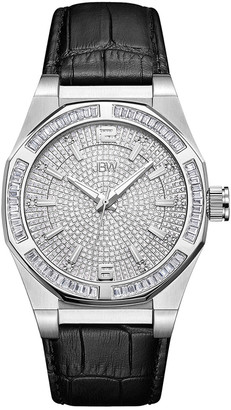 JBW Men's Apollo Diamond & Crystal Watch