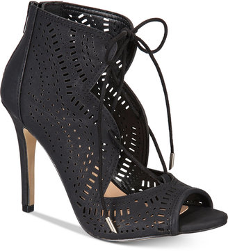 Call It Spring Asoniel Peep-Toe Lace-Up Sandals Women's Shoes $59.50 thestylecure.com