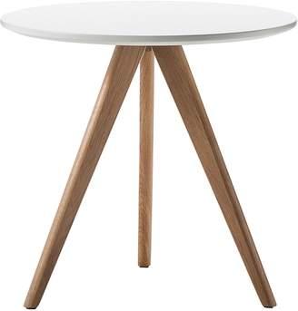 Warehouse Eastern Side Tables Slate Side Table, White