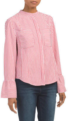 Natasha Striped Button Down Shirt