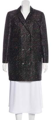 Chanel Metallic Short Coat w/ Tags