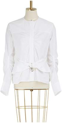 Carven Cotton shirt with belt
