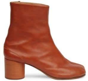 Maison Margiela Tabby Mid-Heel Leather Boots