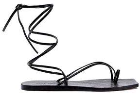 Rick Owens Tangle Ii Leather Sandals
