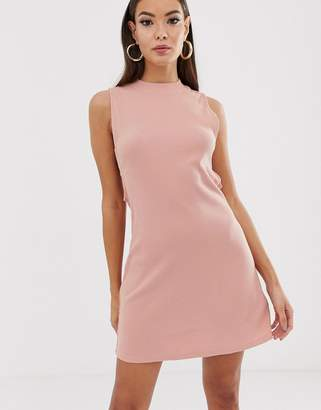 RVCA Talin cut out dress in pink