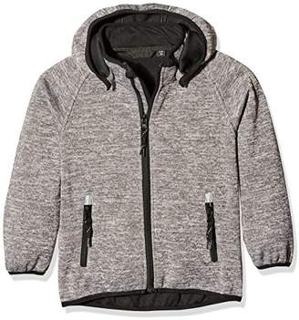 Name It Boy's Nitbeta Knit Softshell BL MZ B FO Jacket