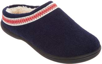 Clarks Felt Women's Slippers with Trim Detail
