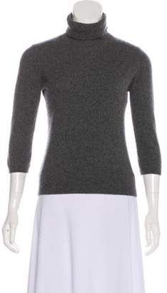 Saks Fifth Avenue Cashmere Knit Sweater Grey Cashmere Knit Sweater