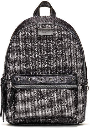Victoria's Secret Victorias Secret Glitter Mesh Small City Backpack