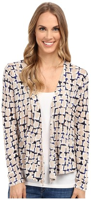 NIC+ZOE Loopy Button 4 Way Cardy $138 thestylecure.com