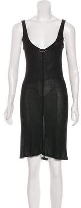 The Row Knit Knee-Length Dress