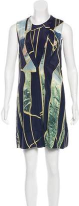 3.1 Phillip Lim Silk Photographic Print Dress