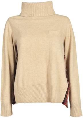 Sacai Pleated Back Sweater