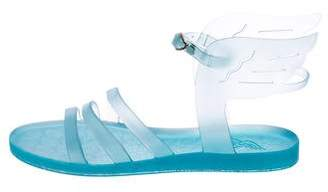 Ancient Greek Sandals Jelly Wing-Accented Sandals
