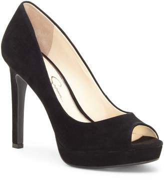 Jessica Simpson Dalyn Peep Toe Pump