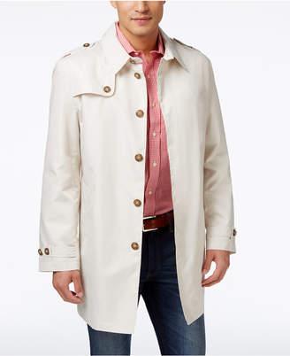 Tommy Hilfiger Men's Fletch Solid Rain Coat