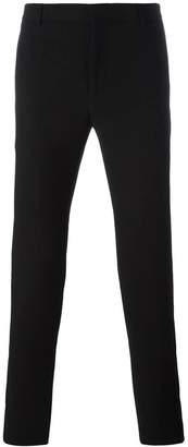 Balmain side stripe slim trousers