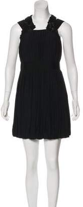 Robert Rodriguez Pleated Mini Dress w/ Tags