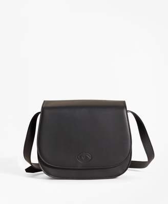 Brooks Brothers Leather Viola Saddlebag