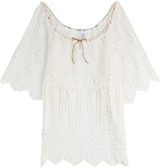 Eberjey Cotton Spearhead Gianna Cover-Up $264 thestylecure.com