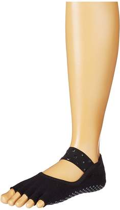 toesox Mia Half Toe w/ Grip Women's Crew Cut Socks Shoes