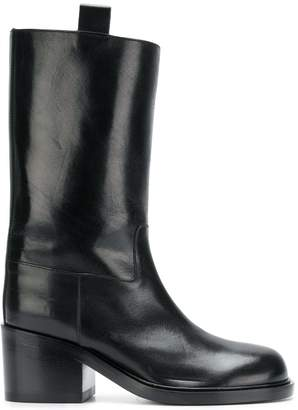 A.F.Vandevorst pull-on midi boots