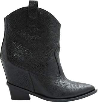 Giuseppe Zanotti Leather western boots