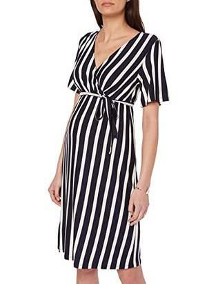 806019f3a1f9 Mama Licious Mamalicious Women's Mlbecky 2/4 Jersey Abk Dress(Size: X-