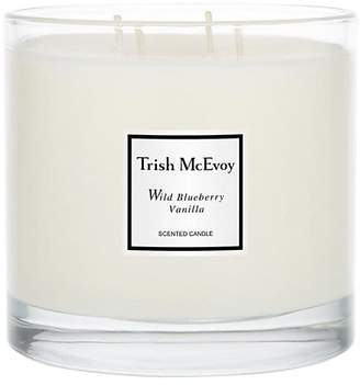 Trish McEvoy Limited Edition Luxury Wild Blueberry Vanilla Scented Candle/26 oz.