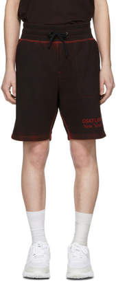 Saturdays NYC SSENSE Exclusive Black and Red Austin Shorts