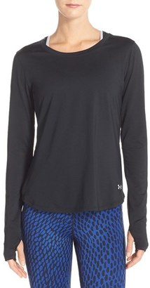 Women's Under Armour 'Fly' Long Sleeve Top $39.99 thestylecure.com