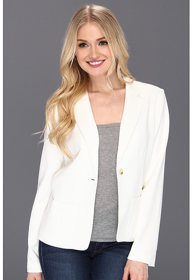 Jessica Simpson Notched Lapel Jacket