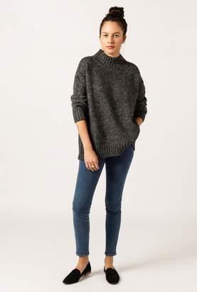 Azalea Mock Neck Cuff Sweater