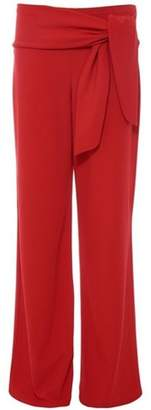 Quiz Womens *Quiz Red Crepe Palazzo Trousers