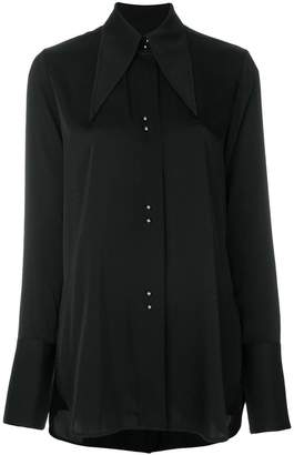 Ellery exaggerated collar blouse
