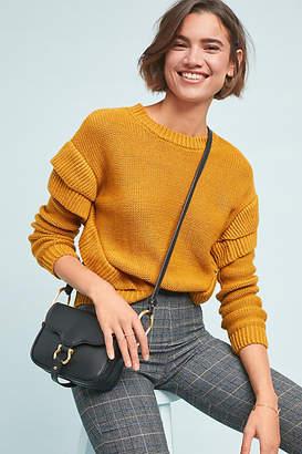 BB Dakota Brently Ruffled Sweater