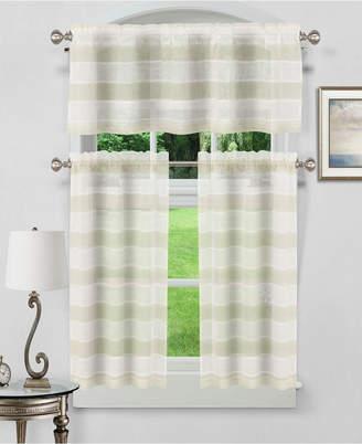 Dakota 3-Piece Kitchen Curtain Set