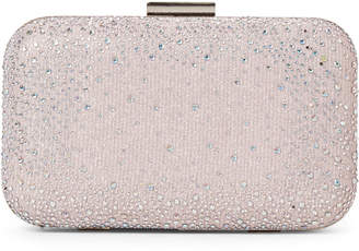 Jessica McClintock Lilac Scattered Stone Clutch