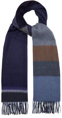 Co BEGG & Aaran tartan cashmere scarf