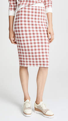 ENGLISH FACTORY Knit Pencil Skirt