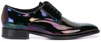 Givenchy iridescent effect derby shoes
