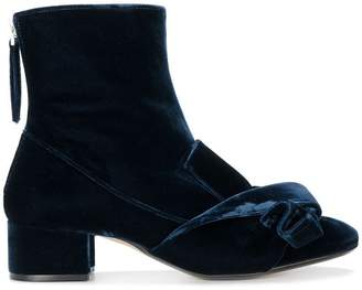 No.21 bow embellished boots