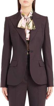 Dolce & Gabbana Stretch Wool Jacket
